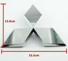 Chrome Plastic ABS Logo Emblem for Mitsubishi 13.0x15.0cm
