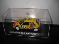 1/43 CITROEN SAXO S1600 RALLY CATALUNYA 2002 #65 D SOLA /  A ROMANI   UNBOXED
