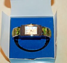 Avon 2006 Abalone Cuff Watch New in Box