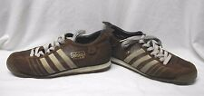 Adidas Chile 62 Mens Shoes 8.5 UK 8 Brown Leather Brand With 3 Stripes 2005