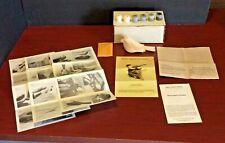 Vintage Bird Carving America Chickadee Wood Carving Kit Rare 1983