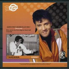 Tanzania 2017 MNH Elvis Presley His Life in Stamps 1v S/S III Celebrities Music
