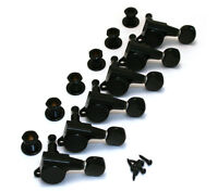 NEW Gotoh 6 In Line Mini TUNERS for Electric Guitar 16:1 Black TK-0760-003