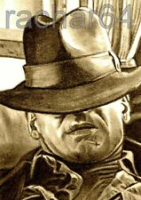 1/1 print ACEO sketch card INDIANA JONES Harrison Ford