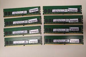 Lot of 8 - SK-Hynix / HP 798033-001 4GB 1Rx8 PC4-2133P DDR4 RAM
