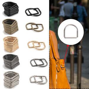 D Rings Welded Buckles for Webbing & Bag Straps 20 25 30 35 40mm Metal Fastening