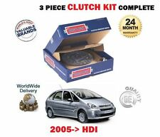 FOR CITROEN XSARA PICASSO 1.6 HDI  2005-->  NEW 3 PIECE CLUTCH KIT