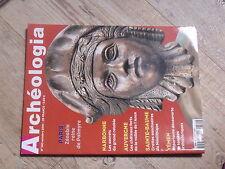 $$a Revue Archeologia N°382 Paris Zenobie  Narbonne  Auvergne vallee de l'Ance