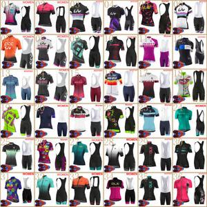 2020 cycling jersey bib shorts suit Womens summer short sleeve Team bike outfits
