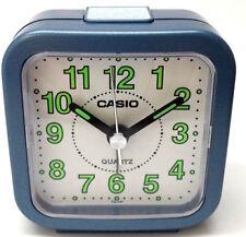 Casio Travel Desk Quartz Alarm Clock Neobrite Resin Case w Battery Tq141-2 New