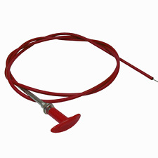 Fire Extinguisher / Master Switch - 3.7M / 12ft Pull Cable With Red T Handle