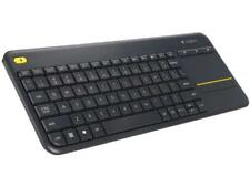 Logitech Recertified 920-007119 K400+ Wireless Touch Keyboard with Built-In Touc