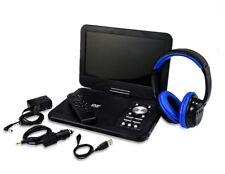 "Onn Ona17Av048 10"" Portable Dvd Player Swivel Screen w/ Bluetooth Headphones"