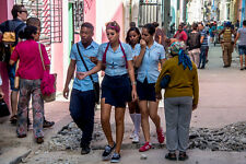 "Neil Reichline Photo, ""Havana High Schoolers"" Havana, Cuba"