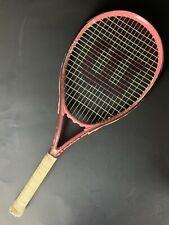 New listing Wilson Hope Pink Tennis Racquet Breast Cancer Awareness Good Condition