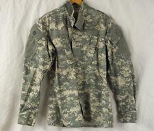 Coat Army Combat Uniform Digital Long Sleeve Men's Size x-Small Regular
