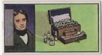 Faraday Dynamo Electricity Inventor Induction Vintage Trade Ad Card