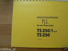 M0315 MZ---ERSATZTEILE---TS 250 + TS 250 / 1-MODEL