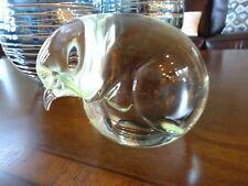 Vintage Murano Art Glass Livio Seguso Kiwi Penguin Italy Arte Vetro Sculpture
