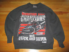 1991 DALE EARNHARDT Winston Cup Champions WEAR BLACK AND SILVER (MED) Sweatshirt