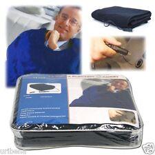 Electric Blanket for Automobile-12 Volt Plug Powered Navy Trademark 75-hblanket