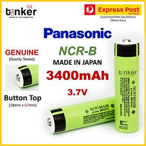 Panasonic NCR 18650 B 3400mAh 10A BUTTON TOP Lithium Li-Ion Multipurpose