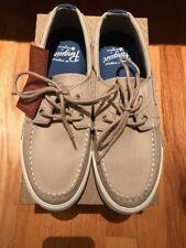 Original Penguin Fly Ocean Men's Boat Shoe-Vintage Khaki-Size 8