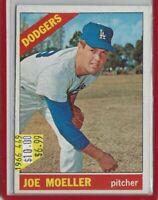 JOE MOELLER LOS ANGELES DODGERS 1966TOPPS#449 LIST=$10 LCC=$6.99