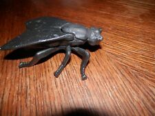 Cast Iron Fly Insect Match Holder, Good Condition, Measures 4 in. Long