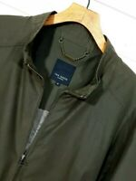 ⭐ Mens Ted Baker Harrington Bomber jacket relaxed fit olive khaki size 5 (XL)