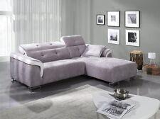 Sofa Amber - Couch mit Relaxfunktion, elektrisch verstellbar, Ecksofa, Eckcouch