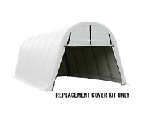 Shelterlogic 12x24x10 14.5oz Replacement Cover Kit fits 90509 62668 805226 White