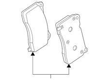 Genuine GM Brake Pads 92277173
