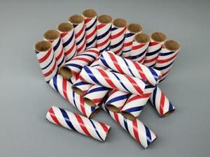 """25pc Firework Tubes 3/4"""" x 3-1/2"""" x 3/32"""" Craft Cardboard Tubes Pyro"""