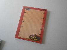 Note Pad (new) PUMPKIN & BATS