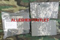 Lot of 2 US Military PVS-14 Molle ACU GPS Pouch & Insert Pocket NIB