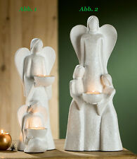 Gilde Angel Joao Tealight 40 cm ( abb. 2) Candle Holder Figure Sculpture -