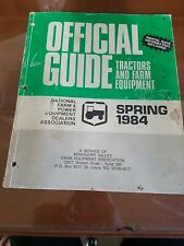 Vintage Official Guide Tractor and Farm Equipment Spring 1983 Prices and Specs