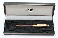 Montblanc Meisterstück Solitaire Doue Kugelschreiber/Bordeax / 925er Silber/ NEU