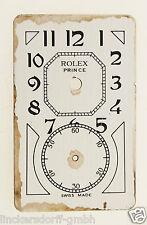 ROLEX PRINCE DOCTORS WATCH ZIFFERBLATT / DIAL - 1930er JAHRE für REFERENZ 971