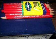 FULL BOX 6 DOZEN 72 VINTAGE WALLACE APPRENTICE 255 THICK PENCILS NEW IN BOX NOS