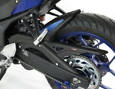 Yamaha MT-03 16-18 Rear Hugger Matt Black Blue Mesh - Powerbronze