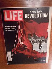 LIFE Magazine OCT 10, 1969  ---- Revolution  ------  NFL 50th Anniversary  ++