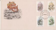 (BB-228) 1981 AU FDC 4stamps Gold rush (BX)