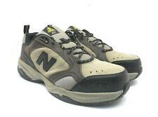 New Balance Men's 627 Steel Toe Athletic Work Shoes MID6270 Brown Size 10 4E