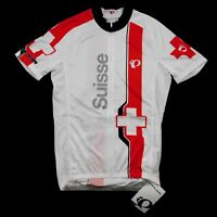 Pearl Izumi Mens Suisse Switzerland Limited Elite Cycling Full Zip Jersey Medium