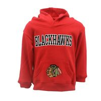 Chicago Blackhawks Official NHL Apparel Infant Toddler Size Hooded Sweatshirt