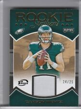 2016 PANINI PLAYOFF #RS-CW CARSON WENTZ ROOKIE RC JERSEY EAGLES 24/25 0157