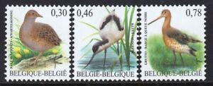 Belgium 2006 Birds Mint MNH Set
