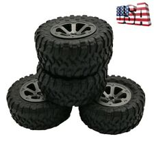 4Pcs Rubber Track Wheels Tyre Parts For 1/16 WPL B-1 B-14 C-14 RC Car Truck Accs